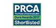 PRCA Shortlisted